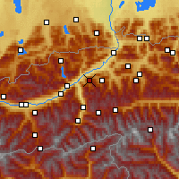 Nearby Forecast Locations - Alpbach - Χάρτης