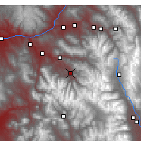 Nearby Forecast Locations - Aspen - Χάρτης