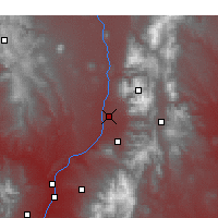 Nearby Forecast Locations - Taos - Χάρτης
