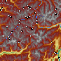 Nearby Forecast Locations - Val Müstair - Χάρτης