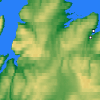 Nearby Forecast Locations - Berlevåg - Χάρτης