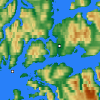 Nearby Forecast Locations - Harstad - Χάρτης