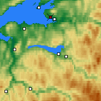 Nearby Forecast Locations - Kvithammer - Χάρτης