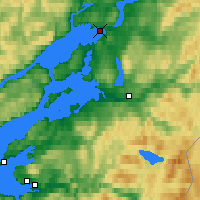 Nearby Forecast Locations - Steinkjer - Χάρτης