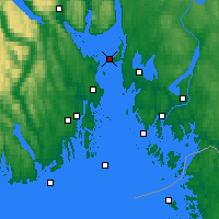 Nearby Forecast Locations - Gullholmen - ������