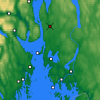 Nearby Forecast Locations - Ås - Χάρτης