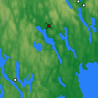 Nearby Forecast Locations - Arvika - Χάρτης