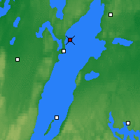 Nearby Forecast Locations - Axstal - Χάρτης