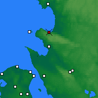 Nearby Forecast Locations - Båstad - Χάρτης