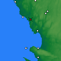 Nearby Forecast Locations - Broen - Χάρτης