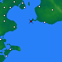 Nearby Forecast Locations - Falsterbo - Χάρτης