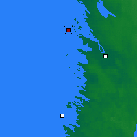 Nearby Forecast Locations - Pori Tahkoluoto - Χάρτης
