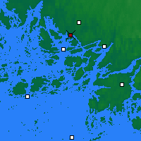 Nearby Forecast Locations - Turku Artukainen - Χάρτης