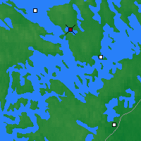 Nearby Forecast Locations - Savonlinna - Χάρτης