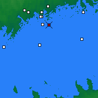 Nearby Forecast Locations - Isosaari - Χάρτης