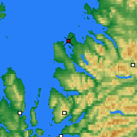 Nearby Forecast Locations - Ullapool - Χάρτης