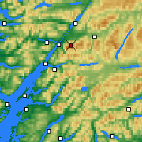 Nearby Forecast Locations - Ben Nevis - Χάρτης