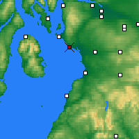 Nearby Forecast Locations - Ardrossan - Χάρτης