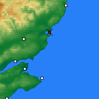 Nearby Forecast Locations - Montrose - Χάρτης