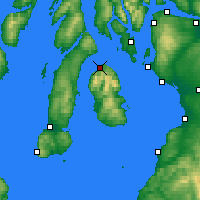 Nearby Forecast Locations - Lochranza - Χάρτης