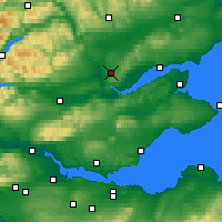 Nearby Forecast Locations - Scone - Χάρτης
