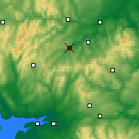 Nearby Forecast Locations - Χόικ - Χάρτης