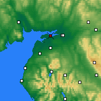 Nearby Forecast Locations - Solway Firth - Χάρτης