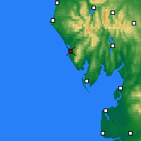 Nearby Forecast Locations - Lake Dist - Χάρτης