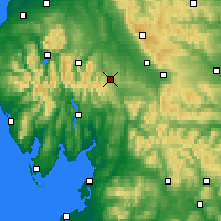 Nearby Forecast Locations - Penrith - Χάρτης