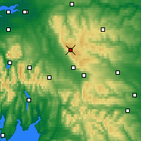 Nearby Forecast Locations - Pennines - Χάρτης