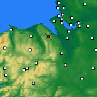 Nearby Forecast Locations - Mold - Χάρτης