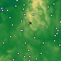 Nearby Forecast Locations - Leek - Χάρτης