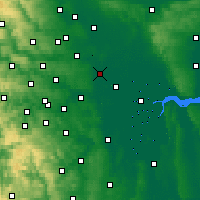 Nearby Forecast Locations - Church Fenton - Χάρτης