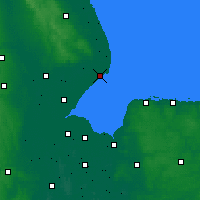 Nearby Forecast Locations - Skegness - Χάρτης