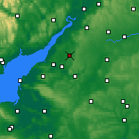 Nearby Forecast Locations - Yate - Χάρτης