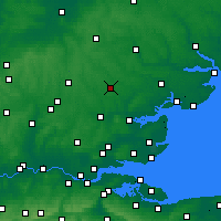 Nearby Forecast Locations - Braintree - Χάρτης