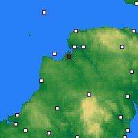 Nearby Forecast Locations - Bideford Bay - Χάρτης