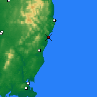 Nearby Forecast Locations - Arklow - Χάρτης