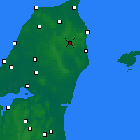 Nearby Forecast Locations - Stenhoj - Χάρτης