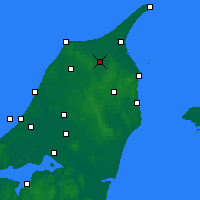 Nearby Forecast Locations - Sindal - Χάρτης