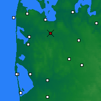 Nearby Forecast Locations - Mejrup - Χάρτης