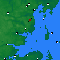 Nearby Forecast Locations - Aarhus Syd - Χάρτης