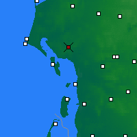 Nearby Forecast Locations - Esbjerg - Χάρτης