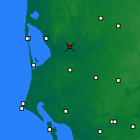 Nearby Forecast Locations - Borris - Χάρτης