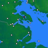 Nearby Forecast Locations - Sønderborg - Χάρτης