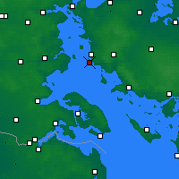 Nearby Forecast Locations - Toroe - Χάρτης