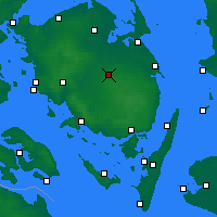 Nearby Forecast Locations - Årslev - Χάρτης