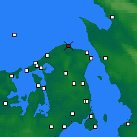 Nearby Forecast Locations - Nakkehoved - Χάρτης