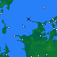 Nearby Forecast Locations - Gniben Point - Χάρτης