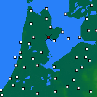 Nearby Forecast Locations - Hoorn - Χάρτης